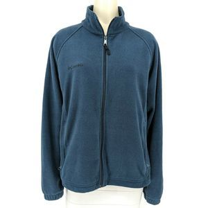 Columbia Fleece Full Zip Sweater Jacket XL